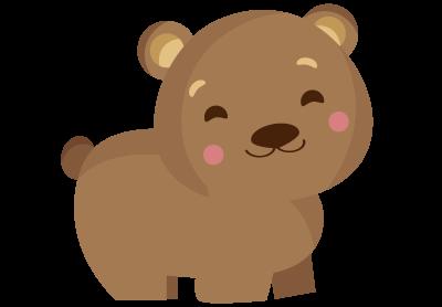 Medve ikon - Züm-züm Bölcsi angol-magyar Montessori családi napközi XI. kerület Bornemissza utcai csoportjának logója
