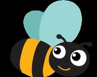 Méhecske logó - Züm-Züm Bölcsi