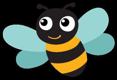 Méhecske logó - Züm-Züm Bölcsi XI. kerület Eszék utcai magán bölcsi csoportja