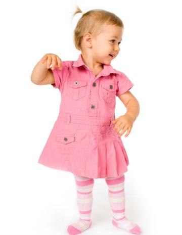 Táncoló kislány