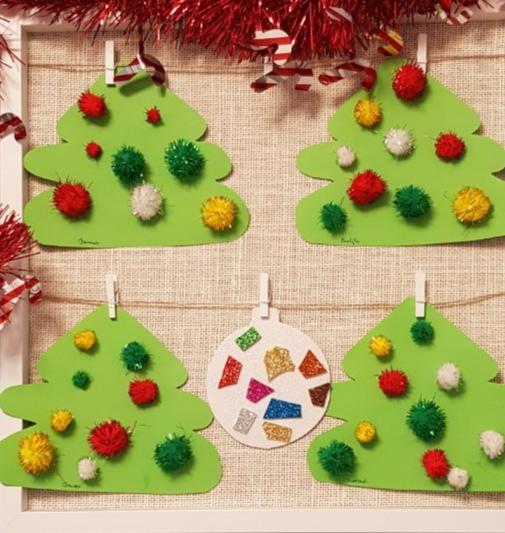 Elkészültek a ragasztott karácsonyfák