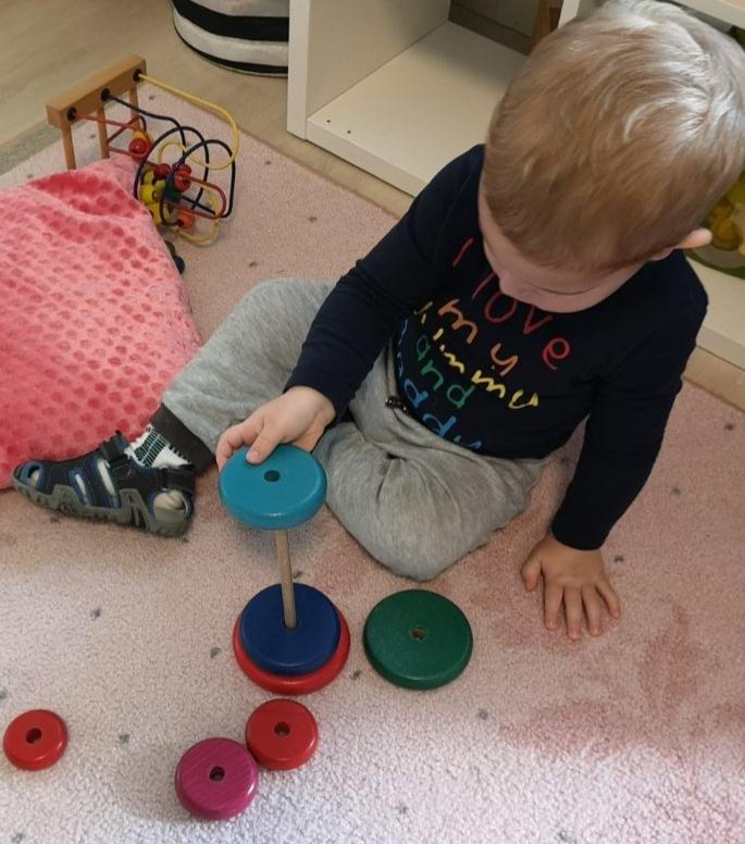 Montessori torony felépítése közben