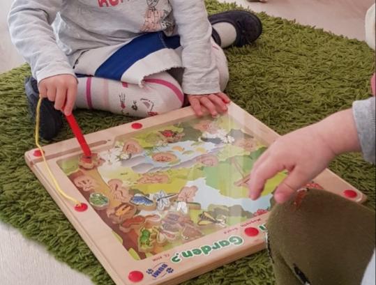 Fejlesztő játék a családi bölcsiben